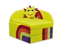 Детский диван Солнышко