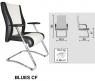 Офисное кресло Bluz / Blues (Блюз)