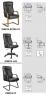 Офисное кресло Orbita (Орман)