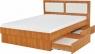 Кровать Комфорт с выдвижными ящиками для белья