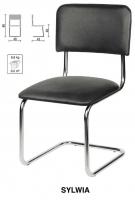 Офисный стул Sylwia Chrome (Сильвия)