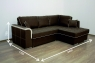 Угловой диван Benefit 8 (Бенефит 8)